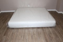 KING SIZE MEMORY FOAM MATTRESS- GRAY SECTIONAL in Kingwood, Texas