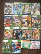 14 XBOX games and 2 DS game in Okinawa, Japan