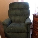 Cloth recliners one burgundy one blue in Pleasant View, Tennessee