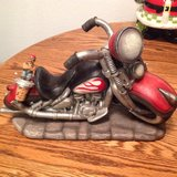 Motorcycle Wine Bottle Holder with Topper in Fairfield, California