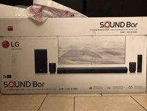 LG 4.1 Channel Soundbar Surround System with Wireless Subwoofer - SJ4R in Alamogordo, New Mexico
