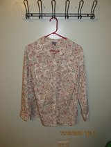 Laura Scott Woman Cotton Blend Collared Button Up Blouse in Chicago, Illinois