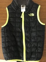 North Face vest in Okinawa, Japan
