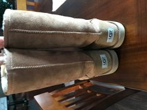 Size 6 Brown Ugg tall boots gently worn in Naperville, Illinois