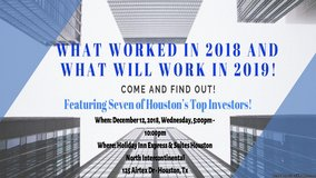 WHAT WORKED IN 2018 AND WHAT WILL WORK IN 2019! in Spring, Texas