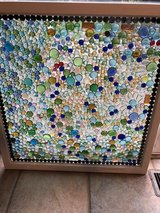 window up cycled into stain glass in Bolingbrook, Illinois