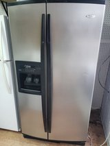 Whirlpool refrigerator with icemaker in Warner Robins, Georgia