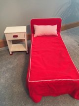 "American Girl ""Molly"" (Retired) Bed and Nightstand in Joliet, Illinois"