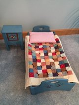 "AMERICAN GIRL ""Kirsten"" (Retired) - Bed, Quilt, Pillow and Nightstand in Joliet, Illinois"