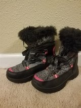 Snow boots in Camp Lejeune, North Carolina