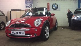 %%% FLASH %%% Converitable 2008 MINI COOPER in Lakenheath, UK