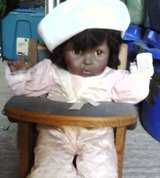 African American Doll in HIgh Chair in Alamogordo, New Mexico