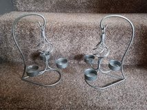 pair of candle holders in Lakenheath, UK