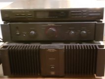 Rotel 200 watt 2 channel Amp and Rotel Pre-Amp in Kingwood, Texas
