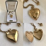 Vintage Heart Locket - Valentines is coming! in Bartlett, Illinois