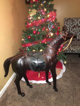 antique/vintage model Leather horse sculpture in Clarksville, Tennessee