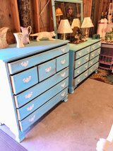 matching pair antique dressers in Camp Lejeune, North Carolina