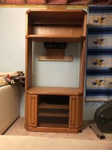 Oak Entertainment Cabinet in Chicago, Illinois