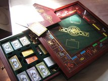 Monopoly 1991 Franklin Mint Collectors Edition in Naperville, Illinois