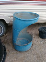 Horse feeder in Alamogordo, New Mexico