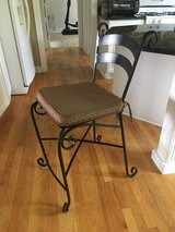 Wrought Iron Stools - Set of 3 in Batavia, Illinois