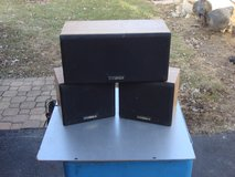 FISHER 3 PC. SPEAKER SYSTEM in Plainfield, Illinois