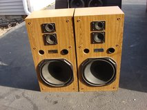 FISHER 3 WAY SPEAKER SYSTEM in Bartlett, Illinois