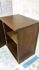 Antique Wood cabinet with door/shelves in St. Charles, Illinois