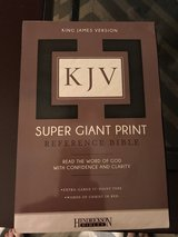 Brand New KJV Super Giant Holy Bible in Kingwood, Texas