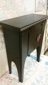 Small black cabinet/end table in Oswego, Illinois