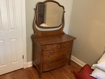 Antique Tiger Oak dresser in Spring, Texas