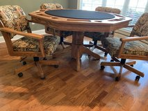 California House Game/Poker Table in Spring, Texas
