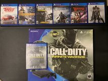 PlayStation 4 bundle w/ 6 extra games in Camp Pendleton, California
