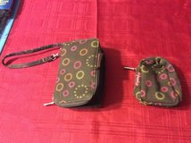 Initials Inc. wristlet & small pouch in Byron, Georgia