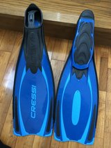 New Cressi Reaction Pro Fins sz 10/11 in Okinawa, Japan