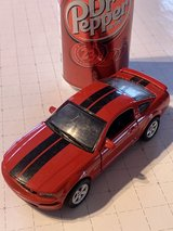 2005 Ford Mustang GT die cast toy in Okinawa, Japan