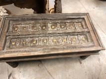 Antique Coffee Table Gray Tones Hand crafted Accent Vintage OCCASIONAL Furniture in Birmingham, Alabama