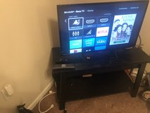 "32"" Sharp Roku TV (w/stand) in Travis AFB, California"