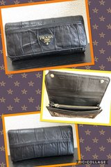 PRADA - Lamb leather wallet (Made in Italy) in Okinawa, Japan