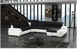 United Furniture - Venice Sectional #2 with Bed and Storage Chaise including delivery .. in Grafenwoehr, GE