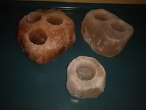 Himalayan salt candle holders in Spring, Texas