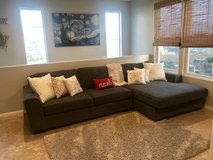 Charcoal Gray Sectional in Camp Pendleton, California