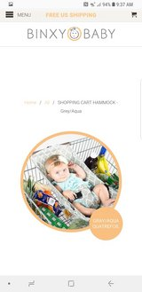 shopping cart baby carrier in Fort Polk, Louisiana
