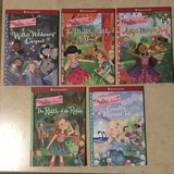 American Girl Doll Wellie Wishers Chapter Book Lot of 5 Like New in Travis AFB, California