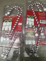 Candy Cane Stocking Holders in The Woodlands, Texas