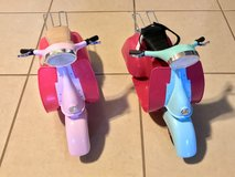 "2 Scooters for 18"" Dolls EUC Super Cute! in Vacaville, California"