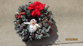 Snowman Wreath in Macon, Georgia