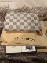 authentic Louis Vuitton AZUR Compact Wallet in The Woodlands, Texas