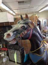 Cast Iron Carousel Horse #2377-1 in Camp Lejeune, North Carolina