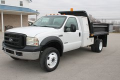 "2006 Ford F-550 Diesel Dump Truck ""Bullet Proofed"" Low Miles 10776 in Bowling Green, Kentucky"